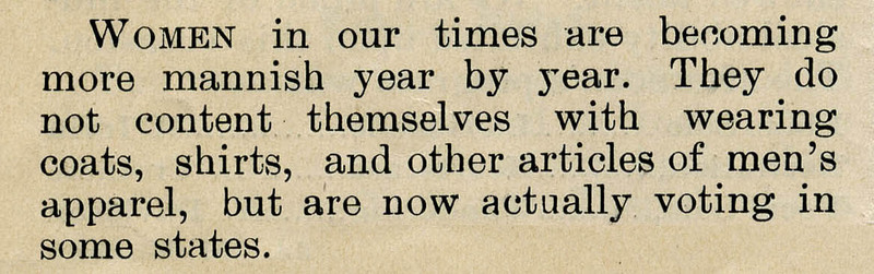 Sorosis, April 1895, Clip3
