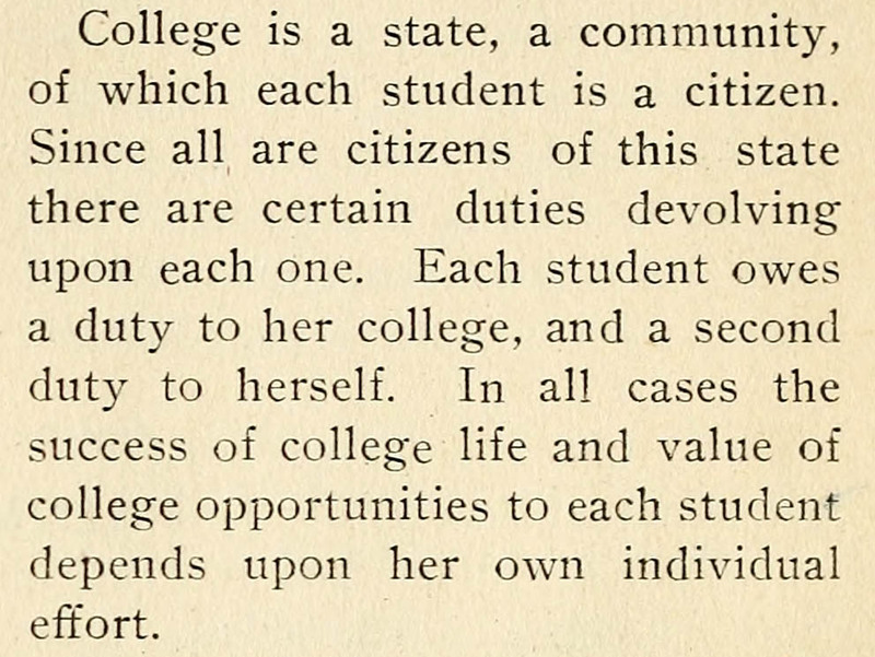 Clip from article Citizenship in the October 1907 Sorosis